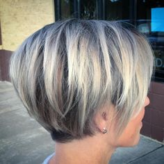 """Hair Beauty - Short Layered Haircuts for Fine Hair """"Layered Pixie Bob For Fine Hair So glad I found more. I'm tired of working against my hair! Bob Hairstyles For Fine Hair, Short Gray Hairstyles, Natural Hairstyles, Medium Hairstyles, Bobs For Fine Hair, Short Hair For Chubby Faces, Edgy Pixie Hairstyles, Pixie Haircut Styles, Hairstyle Short"""