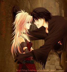 Cain (Ren) & Setsuka (Kyoko) from Skip Beat! | Tumblr