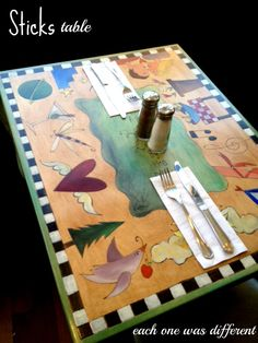 Hand Painted Table Top