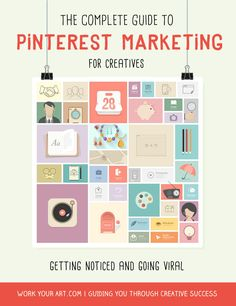 Pinterest marketing: getting noticed and going viral | http://www.workyourart.com