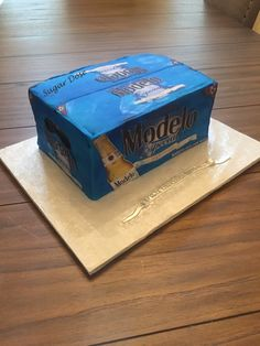 Hubby Birthday, Birthday Cakes For Men, 40th Birthday Parties, Birthday Treats, Cakes For Boys, Beer Cupcakes, Cupcake Cakes, Wooden Cupcake Stands, Modelo Beer