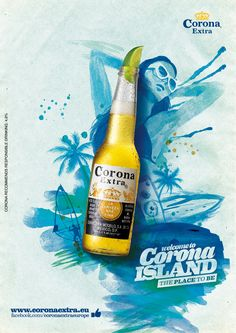 Corona Extra La Cerveza Has Fina Wallpaper For Mobile And Cell Phone Drink Ads Creative, Creative Advertising, Advertising Design, Desgin, Hotel Ads, Beer Poster, Banners, Poster Layout, Advertising Poster