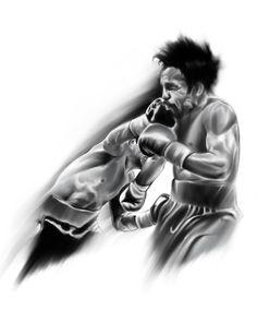 #digital #boxing #art