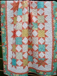 Instant Download Quilt Pattern Twinkle by LittleLouiseQuilts