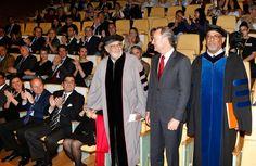 Investidura de Plácido Domingo como Doctor Honoris Causa por Berklee College Of Music Valencia