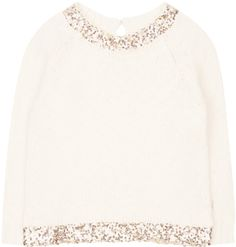 Shop The Billie Blush Girls Sequin Collar Jumper In Neutrals At Elias & Grace. Browse The Cutest Girls Clothes From Billie Blush, Handpicked By Elias & Grace
