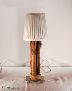 Görbefa éjjeli lámpa két darabos szett, Otthon, lakberendezés, Lámpa, Asztali lámpa, OIvasólámpa, Famegmunkálás, Meska