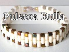 Abalorios DIY - Pulsera con cuentas Rulla ® - YouTube