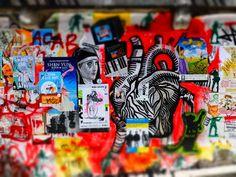 Post Alley / Pike Place Hillclimb - Paste Ups and Graffiti