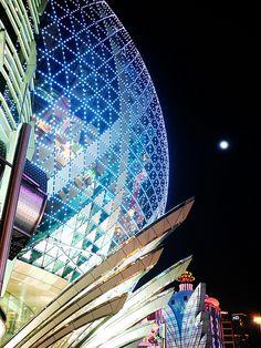 Grand Lisboa Opera House, Hotels, Building, Travel, Viajes, Buildings, Trips, Construction, Tourism