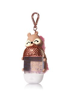 Squirrel Light-Up PocketBac Holder Bath N Body Works, Bath And Body, Cool School Supplies, Cute Water Bottles, Hand Sanitizer Holder, Hand Cream, Perfume, Girly Things, Body Care