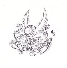 Golden Snitch Tattoo Sketch...