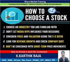 Free Currency Tips|Stock And F&O Tips|Commodity Tips| kences1 : K Karthik Raja Share Market Training - How to Choo...