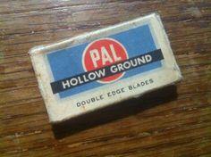 8$ Boite de lames PAL Hollow Ground Double Edge Blade