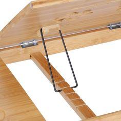 Bamboo Bed Tray Table Height Adjustable Home Bedroom Lap Desk Laptop Holder 8438479789775 Home Room Design, Home Office Design, Bed Tray Table, Laptop Table For Bed, Diy Furniture, Furniture Design, Appartement Design, Art Studio At Home, Art Desk