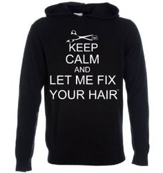 Amazon.com: Keep Calm and Let Me Fix Your Hair (Large): Beauty