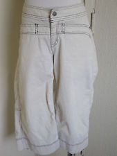 Athleta size 6 cotton stretch tear away b4 u play capri crop pants