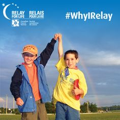 #WhyIRelay - We all have our reasons to Relay. Share yours here and on Twitter with the hashtag #WhyIRelay