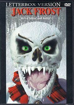 jack frost horror movie postershorror filmsbest - Best Christmas Horror Movies