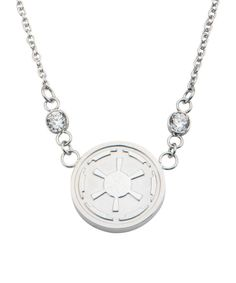 Look at this Star Wars Imperial Symbol Pendant Necklace on #zulily today!