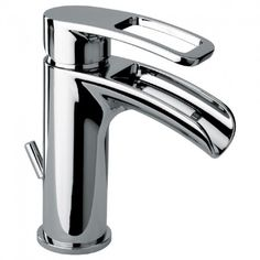 Latoscana Ove small waterfall single handle lavatory faucet in a Chrome finish
