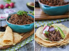 Chipotle Barbacoa Tacos - 3 pound center cut shoulder roast, 5 large ...