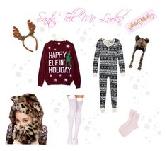 """♡ Ariana Grande Santa Tell Me Looks ♡"" by kaylalovesowls ❤ liked on Polyvore featuring John Lewis, Foot Traffic and Johnstons of Elgin"
