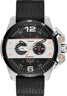 Diesel Ironside Chronograph Leather Black watch is now available on Watches.com. Free Worldwide Shipping & Easy Returns. Learn more.