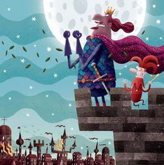 Piotr Socha Illustration Magazine Illustration, Illustration Art, Cartoon Kids, Naive, Children's Books, Illustrators, Fairy Tales, Concept Art, Character Design