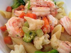 Ensalada de Pasta y Verduras con Salsa Roja | Receta de Dore Ferriz en AguayAjo.com