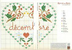 December Cross Stitch Pattern