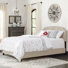 Found it at Wayfair.ca - Antoine Upholstered Panel Bed