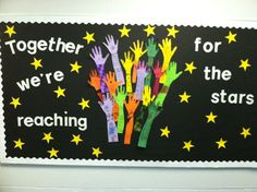 January bulletin board my classroom праздник Star Bulletin Boards, Teacher Bulletin Boards, Preschool Bulletin Boards, Classroom Bulletin Boards, January Bulletin Board Ideas, Space Theme Classroom, Stars Classroom, Classroom Decor, Star Themed Classroom