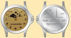 "This limited-edition watch features sand from the ""Star Wars"" set of Tatooine in Tunisia, and is proudly worn by none other than Chewbacca himself."