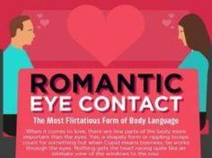 Psychology : Die Sache mit dem Augenkontakt ist schon so eine Sache … #Gefühlschaos… Free Infographic, Body Language, Data Visualization, Number One, Psychology, It Works, Things To Come, Chart, Romantic