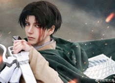 Levi Cosplay, Anime Cosplay, Levi Ackerman, Zoro, Anime Art, Around The Worlds, Drawings, Fictional Characters, Instagram