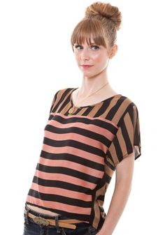 Too Many Stripes Blouse