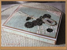 Sandy-Craft Mixed Media, Decorative Boxes, Blog, Crafts, Home Decor, Boxing, Packaging, Creative, Homemade Home Decor