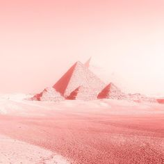 Photographer: Zio Baritaux Title: Pyramids in Rose Medium: Photographic print on textured linen paper Paper size: 8 x 8 in. Edition size: 25 Print date: 2016 Pink Filter, Cairo, Paper Size, Texture, Paper Paper, Prints, Instagram Posts, How To Make, Travelling