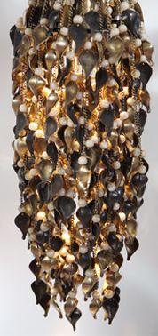 Shell Lighting by Laura Kirar