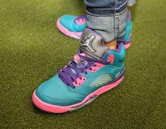 Air Jordan Shoes, Jordan 5 On Feet