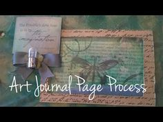 Art Journal Page-The Possible | Imperfect Impulses with Aaron - cool shaker page by Aaron