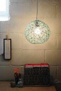 DIY Lamps DIY Yarn Ball Lamp DIY Lamps