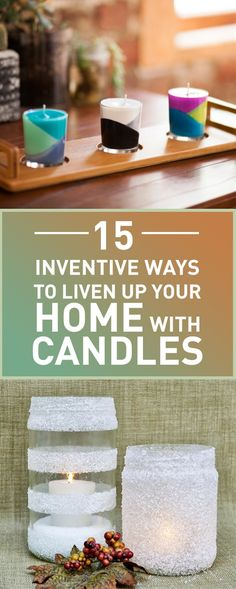 From romantic dinners to birthdays, no special occasion seems to go without candles. Nothing enhances the mood and creates a warm, comfortable atmosphere quite like candles in a dimly lit room. However, you don't need to wait for an opportunity to use them! In fact, candles can be used to breathe new life into your home decor. These tips will help you create unique candle styles that will surprise everyone in your household, as well as enrich your environment with bright colors and fun.