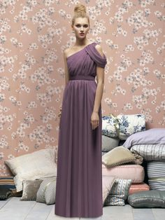 Lela Rose Bridesmaids Style LX160  #purple #bridesmaid #dress