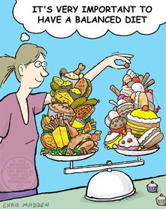 Balanced Diet Cartoon - Looking for free diet tips? You've come to the correct…