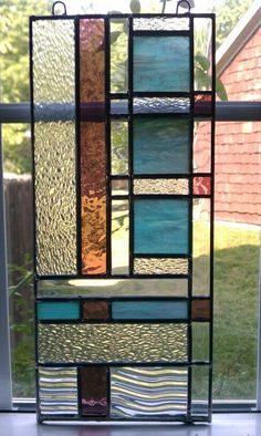 Learn how to make stain glass artwork