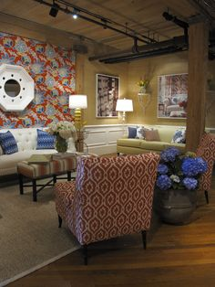Thibaut Fine Furniture Showroom - #315 Historic Market Square - High Point Market Spring 2013 #hpmkt
