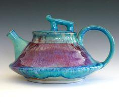 Mika New Moon Teapot Ceramic Teapot ceramics and by ocpottery