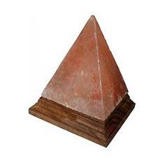 Black Tai Pyramid Himalayan Salt Lamp